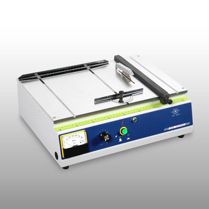 Máy cắt mẫu đa năng.Chuyên dùng cho ngành điện,điện tử,plastics để cắt bảng mạch,linh kiện,sản phẩm. Dễ sử dụng,an toàn,giá trị đầu tư thấp.Xuất xứ Đài Loan
