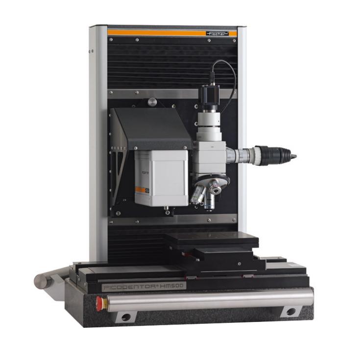 Máy đo độ cứng lớp phủ mỏng hoặc siêu mỏng như lớp mạ, màng nhôm, lớp phủ có độ dầy min
