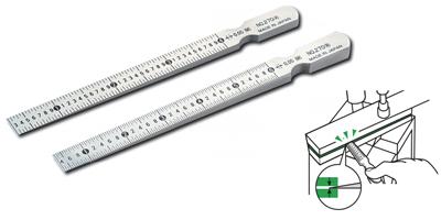 Thước đo khe hở dạng mũi tên dẹt