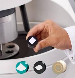 Hệ thống chuẩn bị mẫu. Máy cắt mẫu, đúc mẫu nóng - nguội (đúc chân không), máy mài và đánh bóng mẫu kim tương, kim loại. Độ bền cao, chính xác cao. giá thành rẻ
