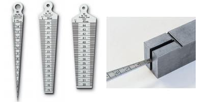 Thước đo khe hở dạng dạng côn trụ